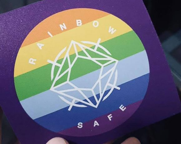 Rainbow Safe Sticker
