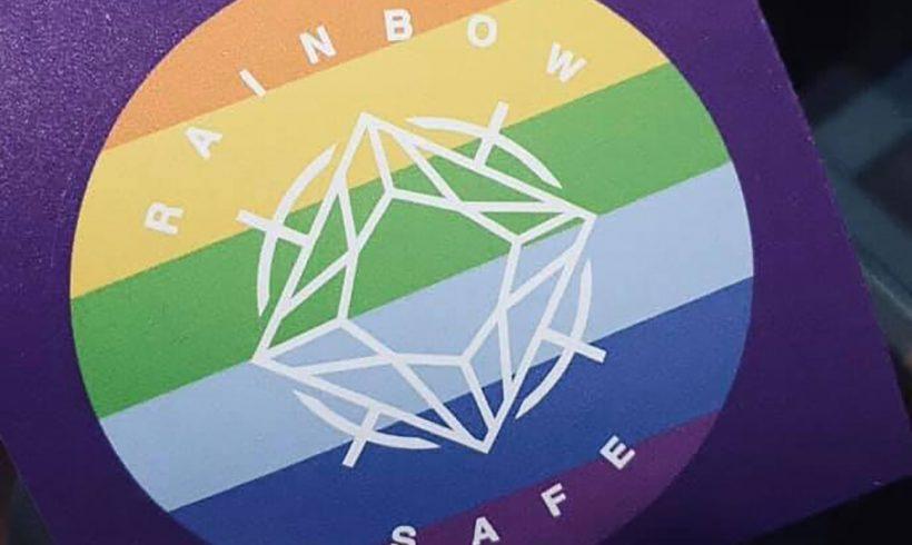 Rainbow Safe Sticker