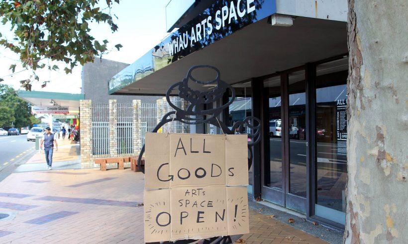 All Goods – Whau Arts Space – 2016