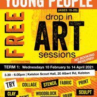 Social – Drop in Art Sessions 2021