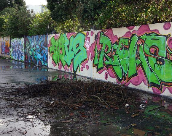 Forum, a celebration of graffiti writing in Avondale