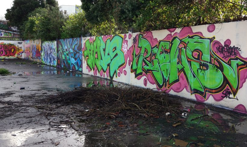 Forum, a celebration of graffiti writing in Avondale