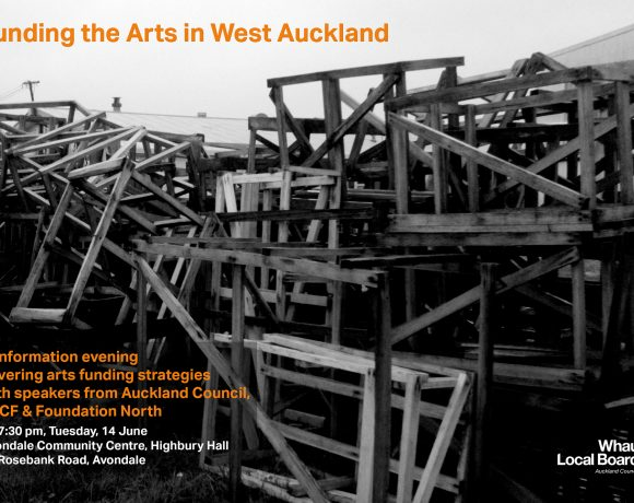 Funding the Arts in West Auckland