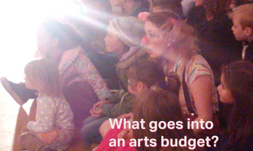 What goes into arts budgets?